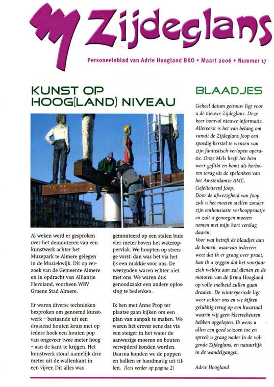 Zijdeglans Kunstwerk Almere